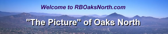 Welcome to RBOaksNorth.com, The Picture of Oaks North